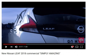 "New Nissan LEAF 2018 ""SIMPLY AMAZING"""